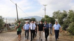 Milletvekili Uslu, Kumluca ve Finike'de incelemelerde bulundu