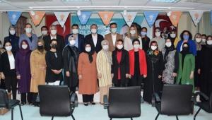 AK Parti Kumluca Kadın Kolları'nda seçim