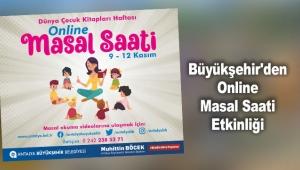 Büyükşehir'den Online Masal Saati Etkinliği