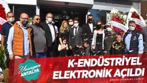 K-Endüstriyel Elektronik açıldı