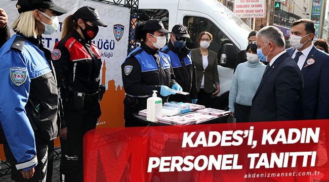 KADES'i, kadınpersoneltanıttı