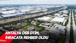 Antalya OSB DTİM, ihracata rehber oldu
