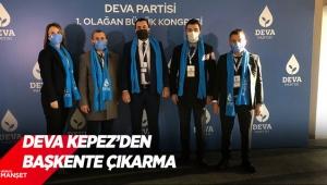 Deva Kepez'den Başkente çıkarma