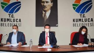 Kumluca'da yılın son meclisi