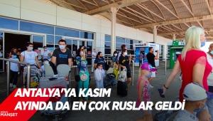 Recep Yavuz: Antalya'ya kasım ayında da en çok Ruslar geldi