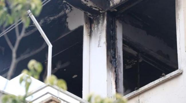 Antalya'da yanan evdeki engelli çift, dumandan etkilendi