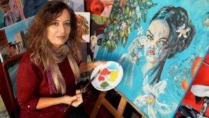 Antalyalı ressamdan Pandemi hatırası eserler