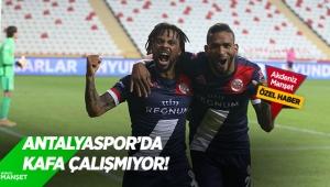 Antalyaspor'da kafaçalışmıyor!