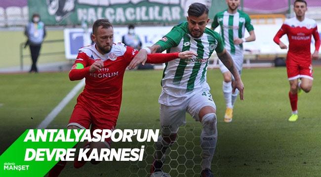 Antalyaspor'un devre karnesi