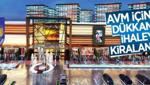 AVM içindeki 31 adet dükkan kiraya verilecek