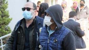 Depodan pompa çalan şüpheli tutuklandı