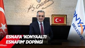 Esnafa 'Konyaaltı esnafım' dopingi