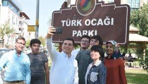 Türk Ocağı Parkı'na kültür ve sanat tesisi
