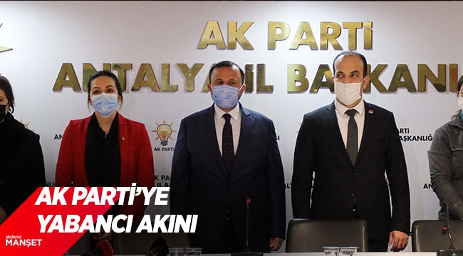 AK Parti'ye yabancıakını