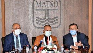 MATSO, ÜYELERİNİN SORUN VE TALEPLERİNİ İLETTİ
