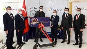 150 bininci doğal gaz abonesi için tören