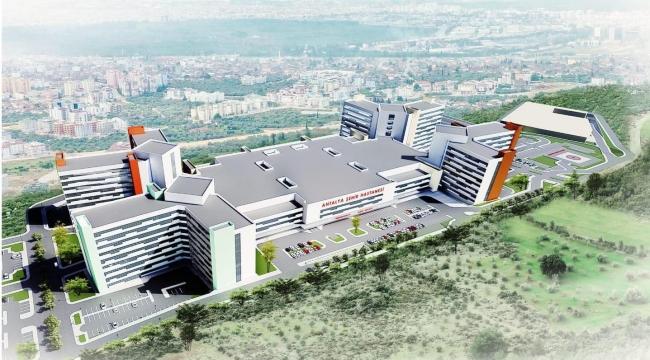 Antalya Şehir Hastanesi yapımına başlandı