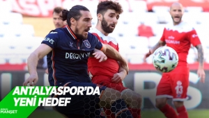 Antalyaspor'da yeni hedef