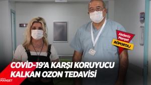 Covid-19'a karşı koruyucu kalkan ozon tedavisi