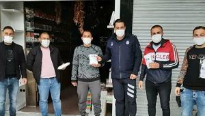 Kemer'den ücretsiz maske