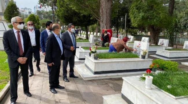 Başaran: Şehitlerimiz, sonsuza kadar Türk Milleti'nin gönlünde yaşayacak
