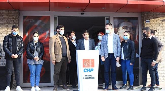 CHP'de 'görevden alma'tartışması