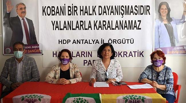HDP'den Kobani davası açıklaması