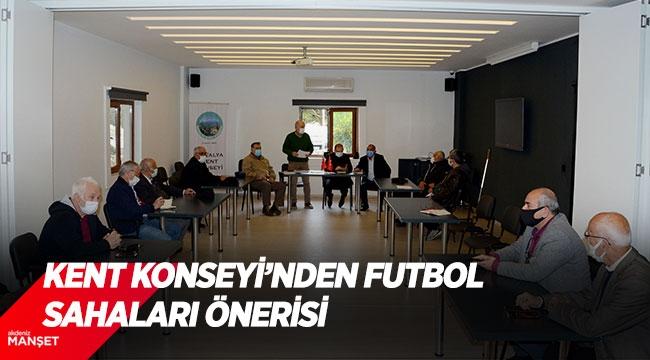 Kent Konseyi'nden futbol sahaları önerisi