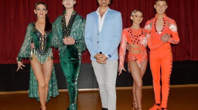 Latin dansında dünya şampiyonu oldular