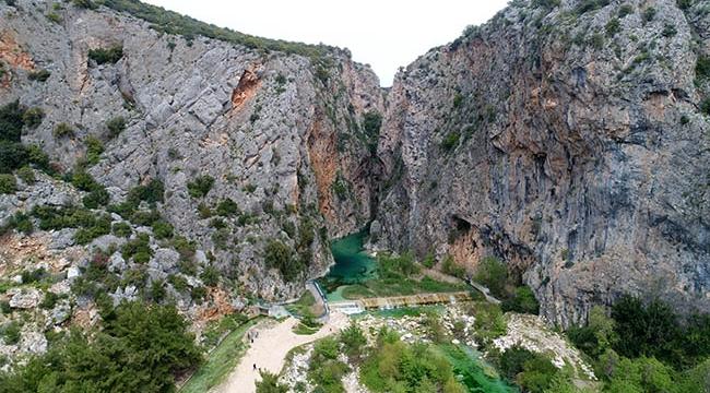 Mahalleli, 'Kapuz Kanyonu'nu turizme kazandırmak için girişim başlattı