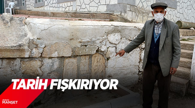 TARİH FIŞKIRIYOR