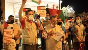 İsrail'in saldırısı protesto edildi
