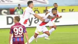 Trabzonspor: 2 Antalyaspor: 1