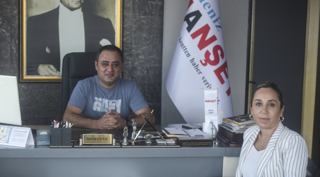 AK Parti'li Çokal Manşet'i ziyaret etti