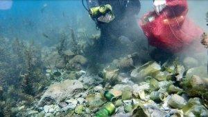 Antalya'nın içme suyu kaynağının dibi çöplük gibi