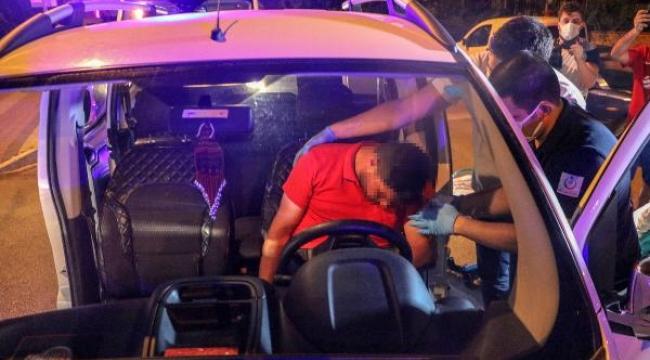 Araçta sızan iki arkadaş, ekipleri harekete geçirdi