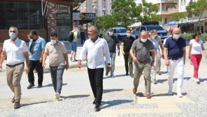 Başkan Sözen'den hizmet turu