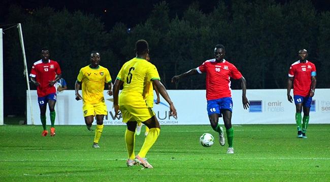 Gambiya, Togo'yu 1-0 yendi