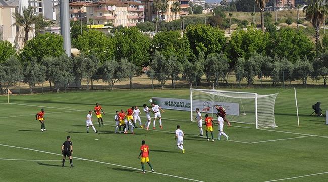 Gine, Kosova'yı 2-1'le geçti