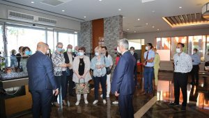Rus heyet Antalya'da