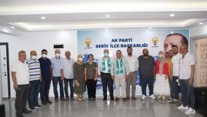 Serikspor'da ziyaretlere devam