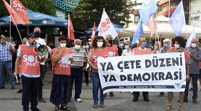 'Ya çete düzeni, ya demokrasi'