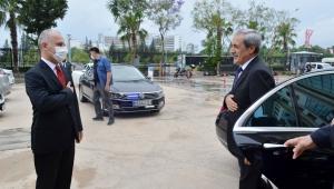 Yargıtay Başsavcısı Şahin'den adliyeye ziyaret