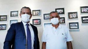 Başkan Topaloğlu, Varol'u ziyaret etti