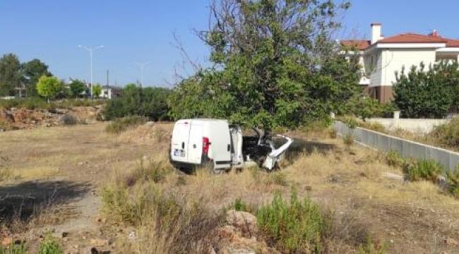Başkan yardımcısı Yörük, trafik kazası geçirdi