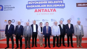 CHP'Lİ BAŞKANLAR ANTALYA'DA TOPLANDI