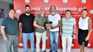 Türkiye'nin en büyüklerine teşekkür etti