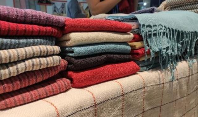 İpek böceğini öldürmeden üretilen kumaşlar dünya pazarında