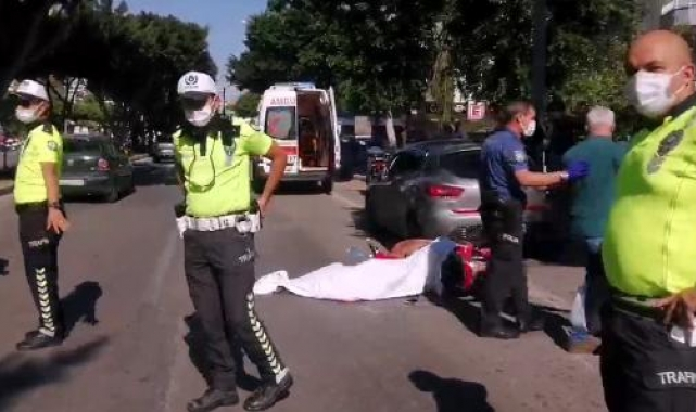 Kaza yerinde kahreden detay