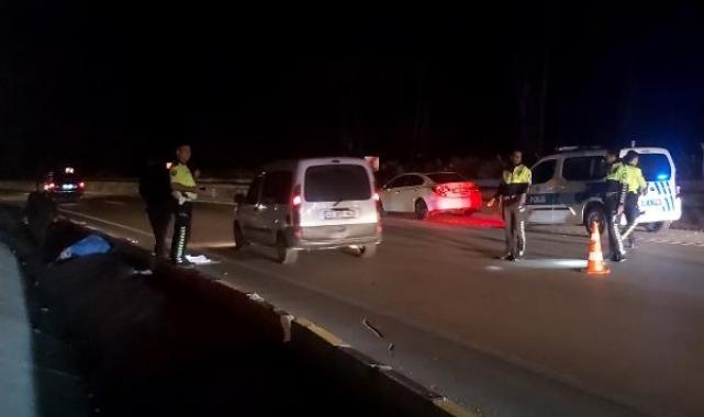 Pazardan eve giderken aracın çarptığı kadın öldü